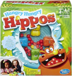 Hasbro 98936 Hungry Hungry Hippos Game