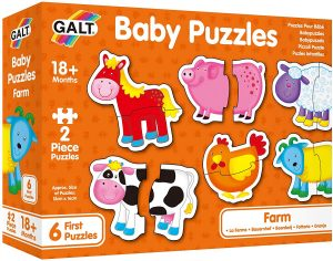 Galt New Baby Puzzles Farm