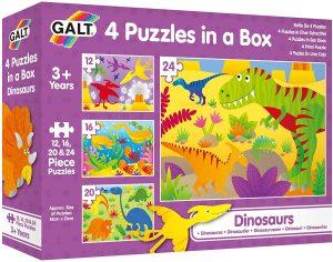 GALT 4 IN A BOX DINOSAURS