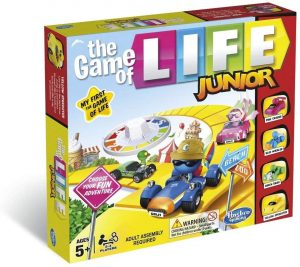 Hasbro B0654 The Game of Life Junior Game