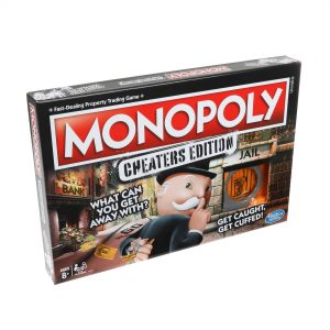 Hasbro E1871 Monopoly: Cheaters Edition