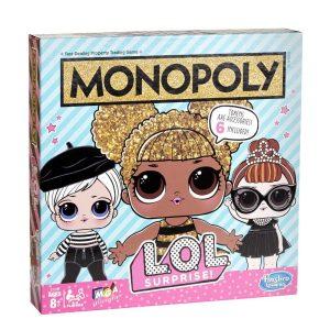 Hasbro E7572 Monopoly Game: L.O.L. SURPRISE! Game