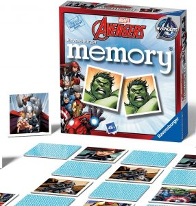 Ravensburger UK 22313 Marvel Avengers-Mini Memory Kids Age 3 Years and Up