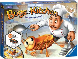 Ravensburger UK 22261Bugs in The Kitchen Board Game for Kids Age 6 Years and Up