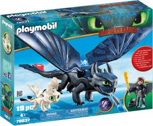 HICCUP & TOOTHLESS PLAYSET
