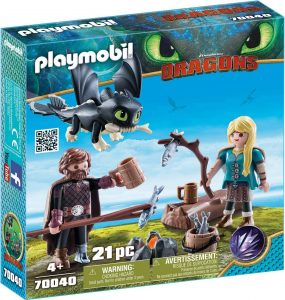 HICCUP & ASTRID PLAYSET