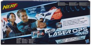 NERF LASER - ALPHAPOINT 2 PACK