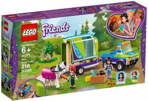 LEGO MIA'S HORSE TRAILER - 41371
