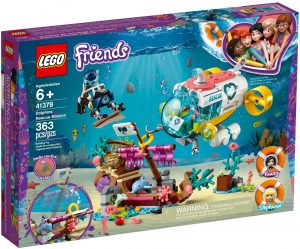 LEGO DOLPHINS RESCUE MISSION - 41378