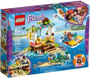 LEGO TURTLES RESCUE MISSION - 41376