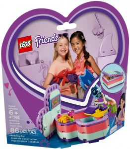 LEGO EMMA'S SUMMER HEART BOX - 41385