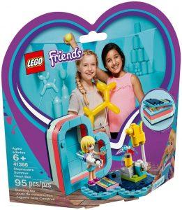 LEGO STEPHANIE'S SUMMER HEART BOX - 41386
