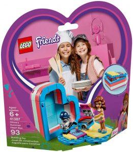 LEGO OLIVIA'S SUMMER HEART BOX - 41387