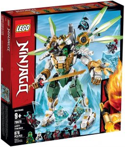LEGO LLOYD'S TITAN MECH - 70676