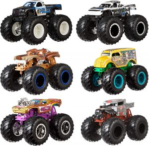 HOT WHEELS MONSTER TRUCKS 2 PK