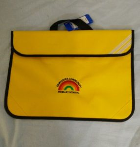 Exminster Primary School Book Bag