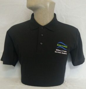 Bicton College Military & Public Services Academy Polo Shirt