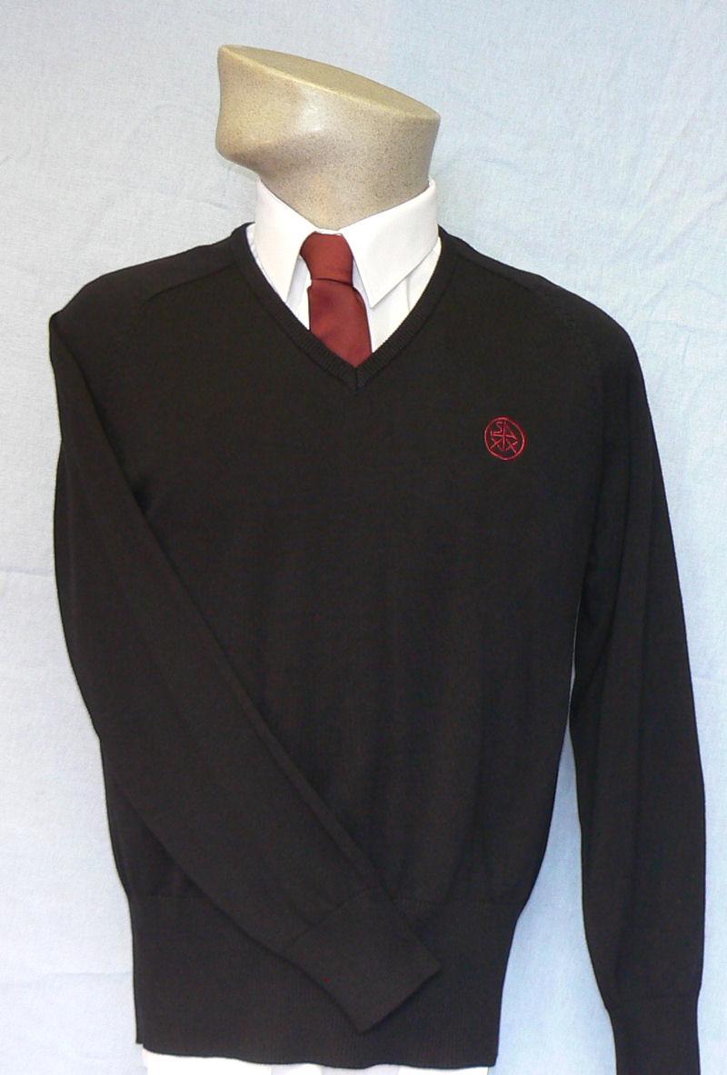 Tiverton High School Girls V-Neck Pullover