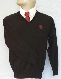 Tiverton High School Boys V-Neck Pullover