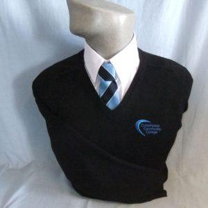 Cullompton Community College Boys V-Neck Pullover