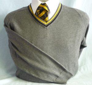 Queen Elizabeth Boys Cotton V-Neck Pullover