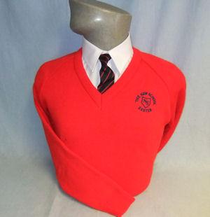 The New School V-Neck Pullover