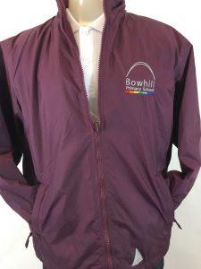Bowhill Primary Reversible School Fleece