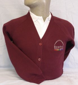 Bowhill Primary School Sweatshirt Cardigan