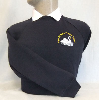 Clyst St Mary Primary School Embroidered Sweatshirt