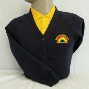 Exminster Primary School Embroidered Sweatshirt Cardigan