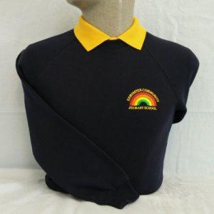 Exminster Primary School Embroidered Sweatshirt