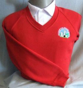Okehampton Primary School V-NeckSweatshirt