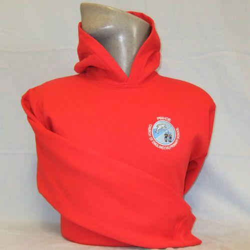 Pinhoe Primary School PE Hooded Sweatshirt