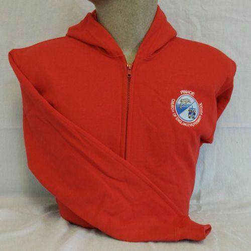 Pinhoe Primary School PE Full Zip Hooded Sweatshirt