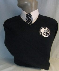 Sidmouth Primary School Embroidered V-Neck Sweatshirt