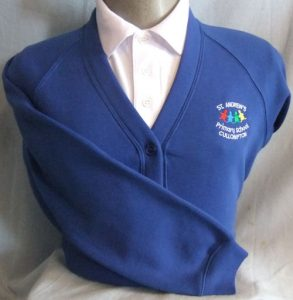 St Andrews Primary School Sweatshirt Cardigan