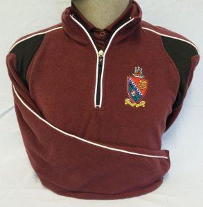 St Peters School PE Fleece Top