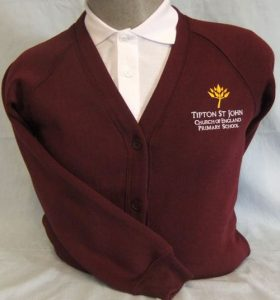 Tipton St John Primary School Sweatshirt Cardigan