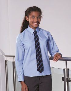 Long Sleeve Non Iron School Blouse - Twinpack (Banner)