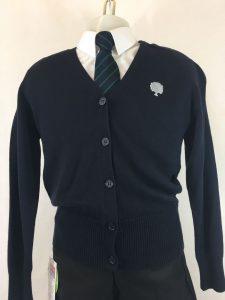 Holsworthy Community College Girls Cotton Cardigan