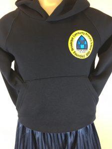 Broadclyst Primary School PE Hooded Sweatshirt