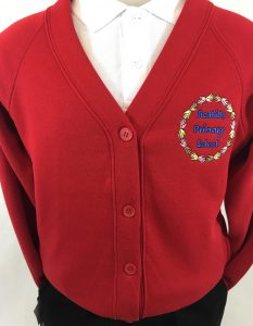 Redhills Primary School Sweatshirt Cardigan