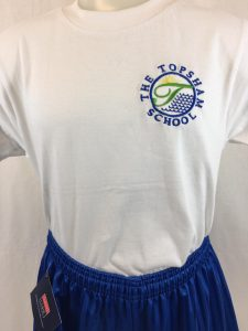 Topsham Primary School PE T Shirt