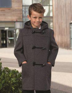 School Duffle Coat - Blue Max