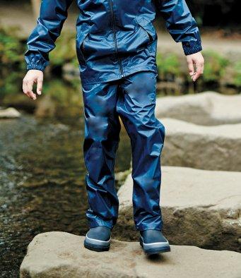 Regatta Kids Pro Stormbreak Waterproof Overtrousers