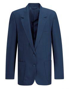 Ziggys Girls School Blazer -Blue Max