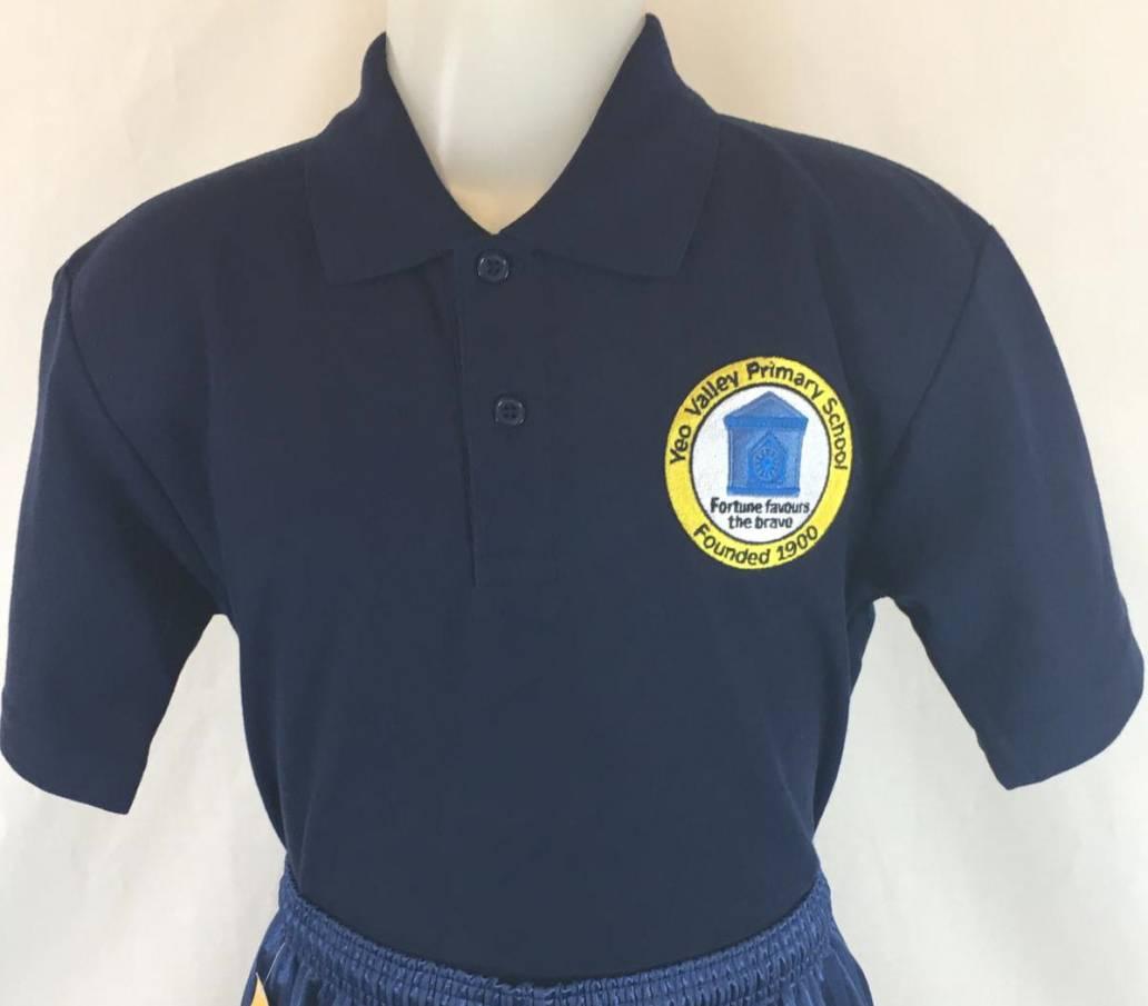 Yeo Valley Primary School PE Polo Shirt