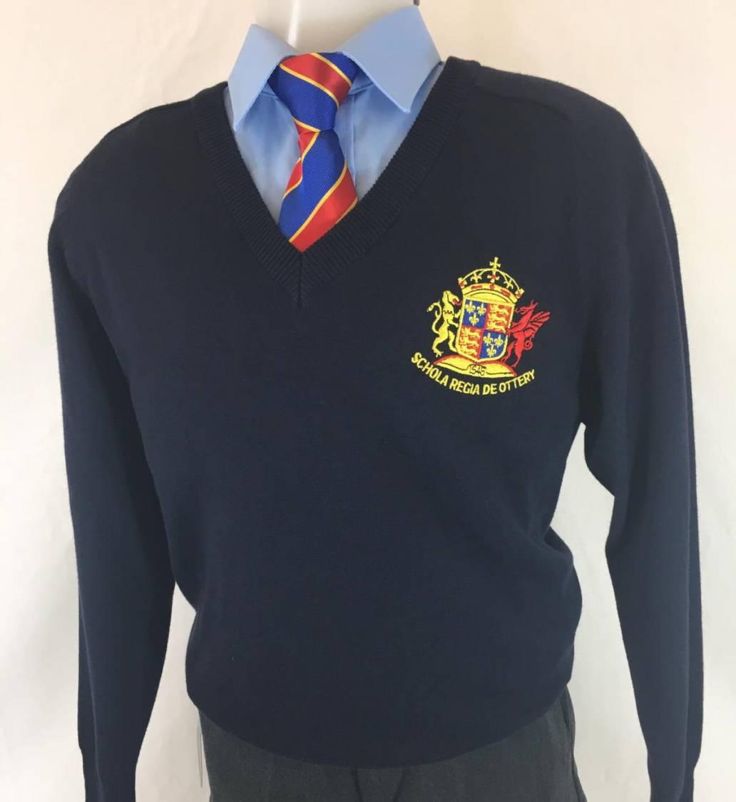 Kings School V-Neck Pullover - Girls Fit
