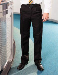 Boys Single Pleat School Trouser - Banner Plymouth