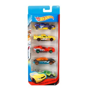 HOT WHEELS 5 CAR PK